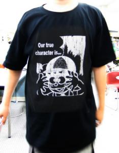 T-shirt/怪物くん