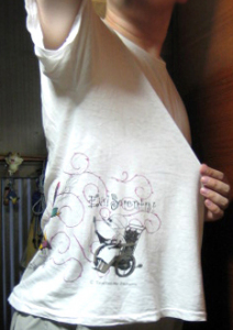 T-shirt/ナイトメアー・ビフォア・クリスマス<サリー&フィンケルスタイン博士>SEGA製
