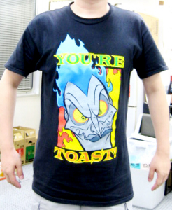 T-shirt/ HADES (HERCULES) You're Toast!