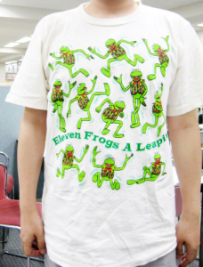 Karmit / Eleven Frogs a leapin'