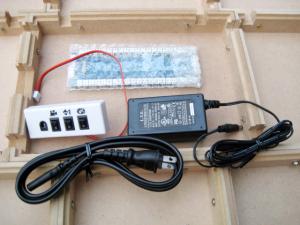 92号/基盤&スイッチ&ACアダプタ&電源コード