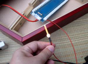 LED発光テスト