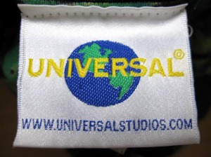 Universal Studio / tag