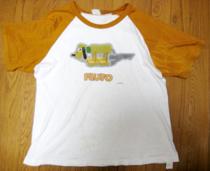 Shirt/ PLUTO OLD TOY / by SEGA
