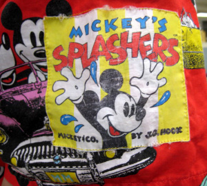 Aloha shirt/Mickey Mouse (Mickey's Splashers by J.G. HOOK)