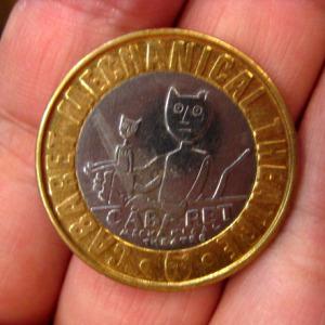 ロンドンからくり博物館/コイン