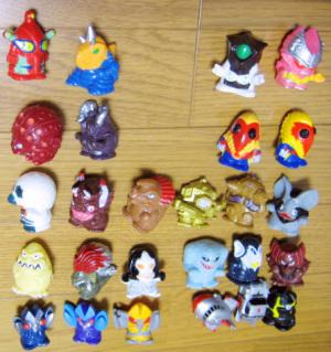 指人形/主に2001年に変更された新色たち