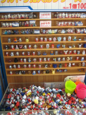 東京駅ウルトラマンワールドM78/ウルトラマン指人形