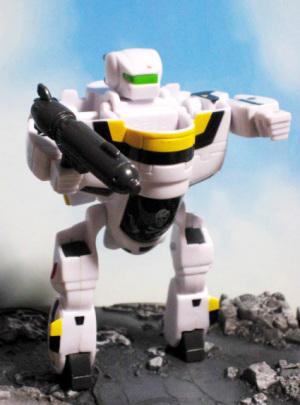 ROBOTECH Super Deformed Morphers VERITECH / VF-1S SKULL LEADER