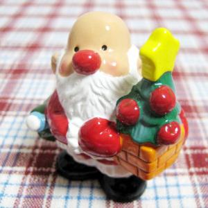 高島屋チャリティ・オーナメント2009/りんごのツリーを抱えたサンタさん