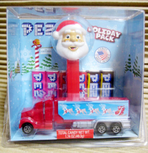 PEZ / HOLIDAY PACK CRISTMAS TRACK & SANTA CLAUS