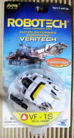 ROBOTECH Super Deformed Morphers VERITECH / Package