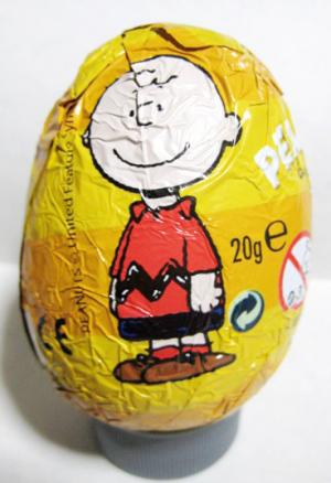 チョコレートエッグ/ピーナッツ(チャーリーブラウン)