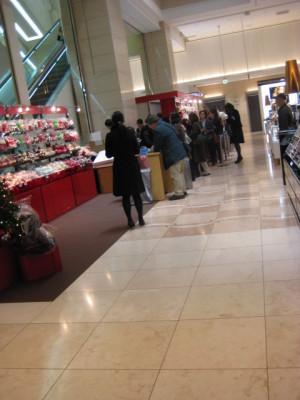 新宿タカシマヤ クリスマス特設売り場
