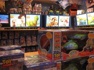 トイ・ストーリー玩具売り場