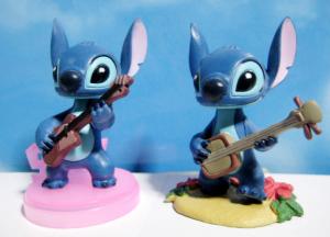 ゆらゆらフレンズ スティッチ!part2/のりのりスティッチ ノーマル(右)とギターver.(左)