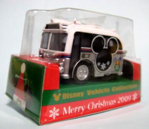 チョロQ/DVCディズニー・リゾート・クルーザーMERRY  CHRISTMAS 2009