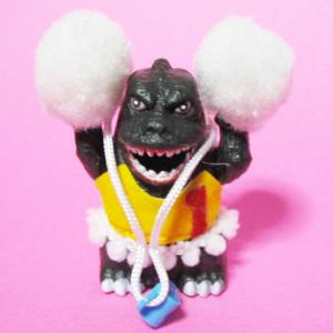 レディみるく チョロ獣ゴジラ(チアガール)