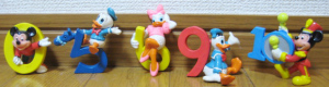 Disney Mickey and Pals Count figures / APPLAUSE