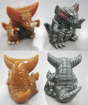 指人形/大怪獣バトル版ゴモラ&メカゴモラ
