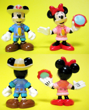 Mickey and Minnie / Disney wonder land / DW Hello Wonder Set (2003)