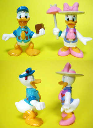 Donald and Daisy / Disney wonder land / DW Hello Wonder Set (2003)