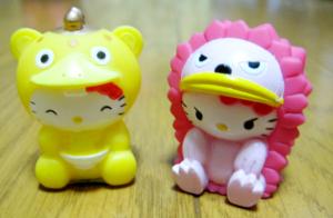 人形すくい/なりきりハローキティ (ブースカ、ピグモン)