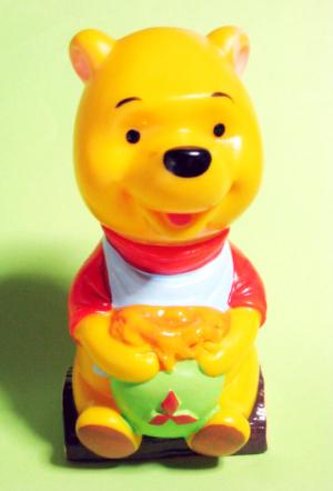 三菱銀行ディズニーキャラクター貯金箱/クマのプーさん(1967)