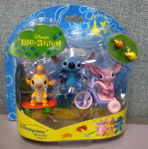Figurine Play set/ Lilo and Stitch / Disneyland Resort PARIS