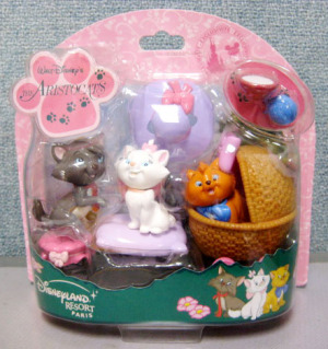 Figurine Play set/ Aristocat / Disneyland Resort PARIS