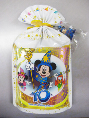 Fantasmic ! Mickey mouse mascot with Cookie / Tokyo Disneysea