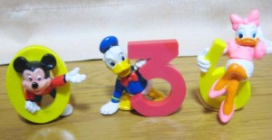 Mickey's numbers figurine / by Applause