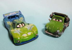 CARS 2 /CARLA VELOSO and CARLA'S CREW CHIEF