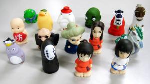 ジブリがいっぱい指人形/千と千尋の神隠し (15種類)
