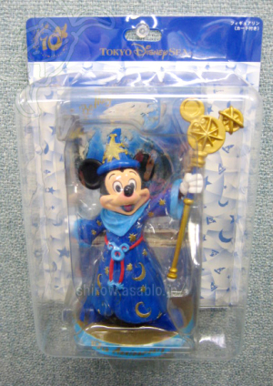 Figurine/TOKYO Disney Sea 10th Anniversary Mickey Mouse/ TDR Exclusive