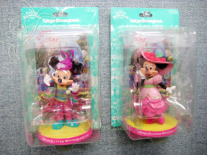 Figurine /Disney's Easter Wonderland 2011 Mickey and Minnie Mouse / Tokyo Disneyland Exclusive
