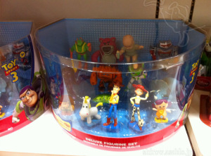 Disney store DX Figurine set / Toy Story 3 (Peas in The Pod Extend version)