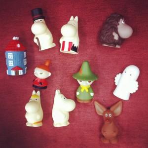 Finger puppet / Moomin