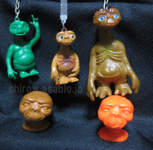 E.T. / Bootleg toys collection