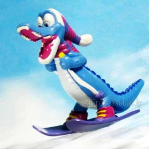 Collectible figurine / Ice Gator (Disney's Blizzard Beach, WDW)