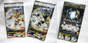 LEGO/Bionicle 8584Hewkii 8585Hafu / Japanese Package by KABAYA