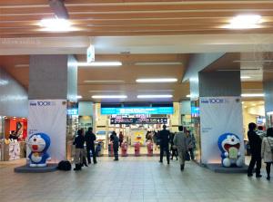 ドラえもん100展/新宿駅(01~03)