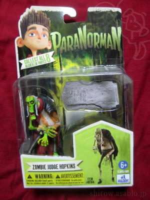 ParaNorman / ZOMBIE JUDGE HOPKINS 4-Inch Figure / by Huckleberry Toys