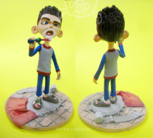 ParaNorman / Norman Babcock in Pajamas with Toothbrush 4-Inch Figure / by Huckleberry Toys