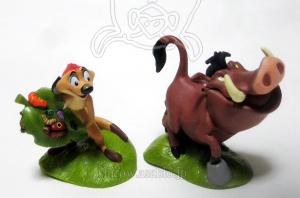 Timon and Pumbaa / Lion King