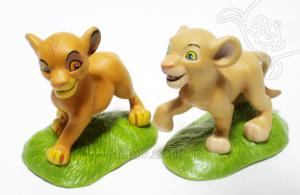 Simba and Nala / Lion King
