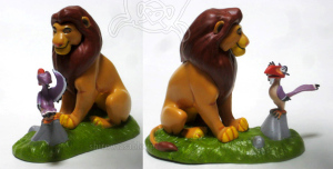Mufasa and Zazu / Lion King