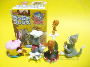 トムとジェリー ちっちゃフレンズ /by F-Toys