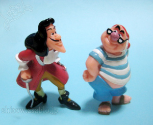 Figurine /Captain Hook and Smee / Park Exclusive