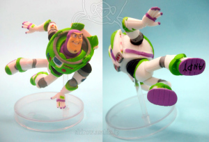 Collectable Figurine / TOY STORY motion collection / Buzz Lightyear